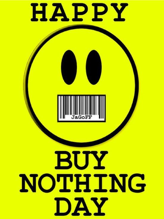 Annual buy nothing day essay